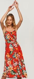 Sukienka Answear maxi w stylu boho