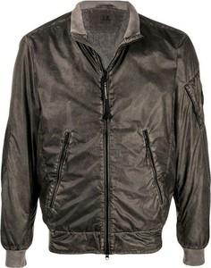Brązowa kurtka C.P. Company krótka w stylu casual
