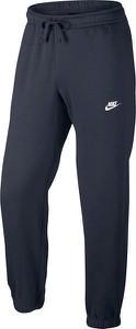 Niebieskie spodnie sportowe Nike w street stylu