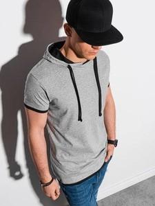 T-shirt Ombre z bawełny z krótkim rękawem
