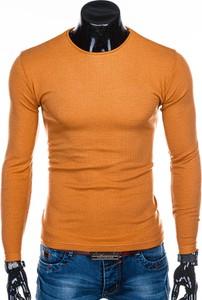 Pomarańczowy sweter Edoti