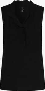 Bluzka Marc Cain bez rękawów z dekoltem w kształcie litery v