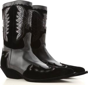 Czarne buty zimowe Givenchy