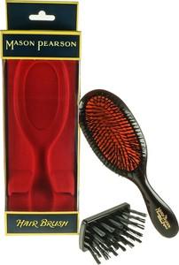 Mason Pearson Handy Bristle - szczotka do czesania włosów cienkich rubinowa - Wysyłka w 24H!