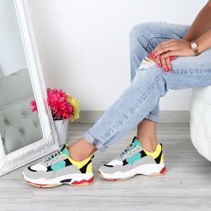 Buty sportowe Royalfashion.pl w sportowym stylu sznurowane z zamszu