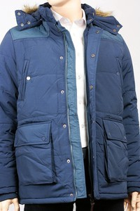 Niebieska kurtka Brave Soul krótka