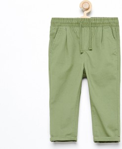 Zielone spodnie dziecięce Reserved dla chłopców