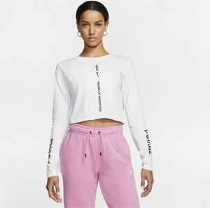 T-shirt Nike z okrągłym dekoltem z długim rękawem