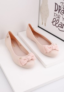 Różowe baleriny Yourshoes w stylu casual