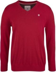 Bordowy sweter rhode island