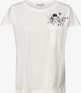 T-shirt Marie Lund z okrągłym dekoltem z krótkim rękawem