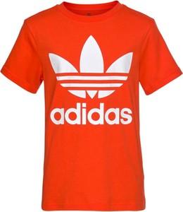 Pomarańczowa bluzka dziecięca Adidas Originals