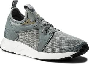 Sneakersy asics - tiger gel-lyte v rb h801l stone grey/stone grey 1111