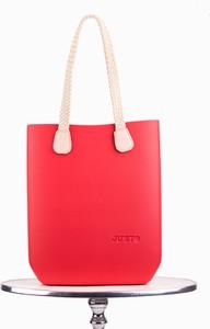 Czerwona torebka Justo