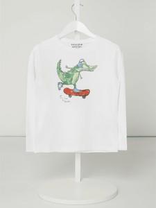Koszulka dziecięca Review For Kids z długim rękawem z dżerseju