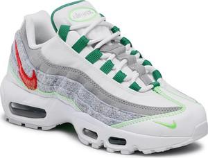 Buty sportowe Nike air max 95 w sportowym stylu z płaską podeszwą