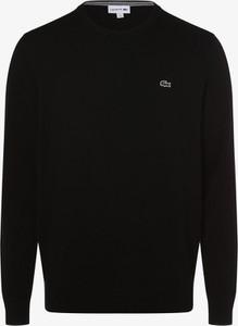 Czarny sweter Lacoste
