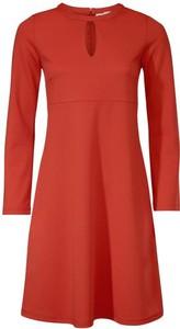 Sukienka rick cardona by heine midi z dżerseju