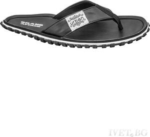 Czarne buty letnie męskie Ivet.pl w sportowym stylu