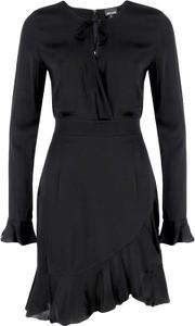 Sukienka Just Cavalli z długim rękawem