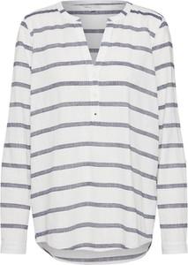 Bluzka Tom Tailor Denim z dekoltem w kształcie litery v z długim rękawem