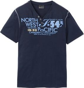Niebieski t-shirt bonprix bpc selection