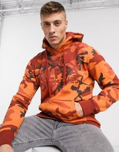 Pomarańczowa bluza Alpha Industries