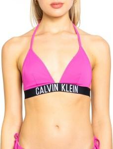 Różowy strój kąpielowy Calvin Klein Underwear z nadrukiem w stylu casual