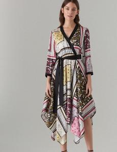 46ecf54e29 asymetryczna sukienka mohito - stylowo i modnie z Allani
