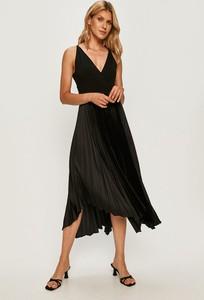 Sukienka Guess by Marciano midi z dekoltem w kształcie litery v