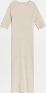 Sukienka Reserved w stylu casual z okrągłym dekoltem