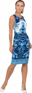 Niebieska sukienka Joseph Ribkoff