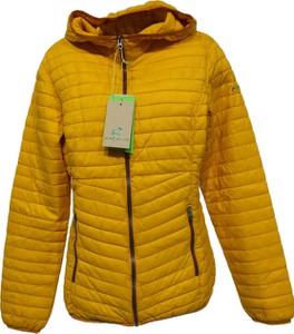 Żółta kurtka CMP w stylu casual krótka