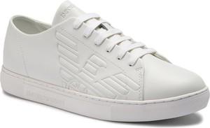 Sneakersy EMPORIO ARMANI - X4X238 XF332 00152 Optical White