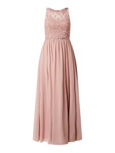 Sukienka Laona maxi z szyfonu bez rękawów