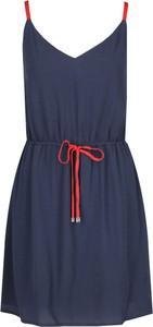 Sukienka Tommy Jeans rozkloszowana na ramiączkach mini
