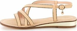 Sandały Prima Moda w stylu casual z klamrami