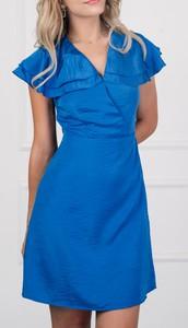 Niebieska sukienka Justmelove