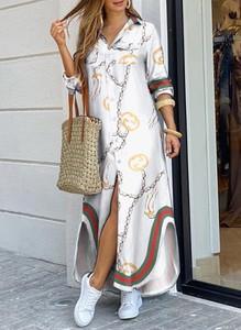 Sukienka Sandbella w stylu casual maxi