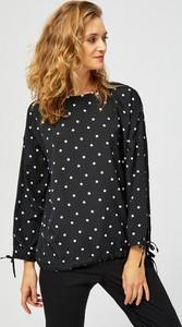 Bluzka Moodo z okrągłym dekoltem
