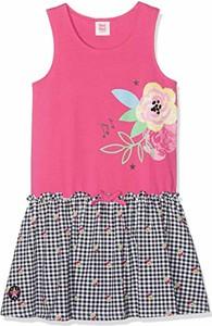 Różowa sukienka dziewczęca Tuc Tuc z dzianiny