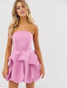 Fioletowa sukienka Asos Design bez rękawów