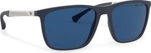 Emporio Armani Okulary przeciwsłoneczne 0EA4150 547480 Granatowy