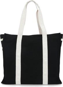 Czarna torebka Liu-Jo matowa duża