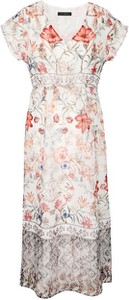 Sukienka VitoVergelis z krótkim rękawem maxi w stylu casual