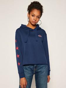 Bluza Tommy Jeans krótka w młodzieżowym stylu