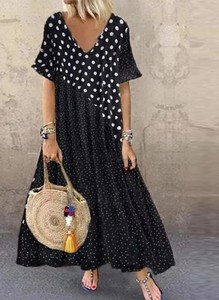 Czarna sukienka Cikelly