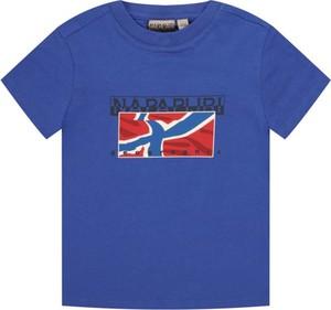 Koszulka dziecięca Napapijri z krótkim rękawem