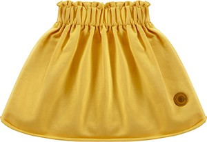 Żółta spódniczka dziewczęca Tuszyte z dzianiny