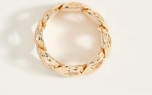 Mohito - Szeroka bransoleta - Złoty